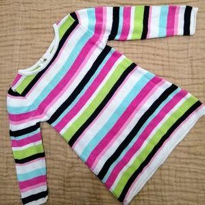 Gymboree striped sweater dress. 3T